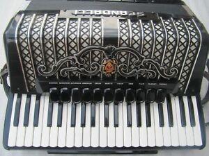 Akkordeon Scandalli Super VI Super 6 Cassotto 120 Bass accordion acordeón