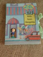 Vintage Polly Pocket Polly Goes Shopping  Play Set Pop Up Book