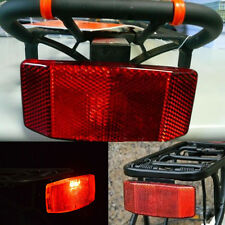 Bicycle Bike Safety Caution Warnning Reflector for Rear Pannier Racks Frame