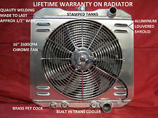 Radiator 63-69 Fairlane Ranchero Falcon 66-73 Comet 67-70 Mustang 68-69 Torino