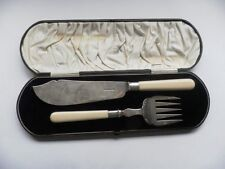 1850-1899 Antique Solid Silver Cutlery Sets