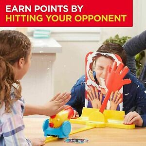 HASBRO GAME PIE FACE CANNON GAME- CHILDREN GAME CRAZY FAMILY FUN Xmas Day+BOX