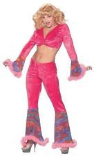 Pink Haze 70's Sexy Adult Costume Medium