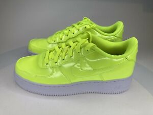 Nike Air Force 1 LV8 UV GS AF1 Volt Yellow White AO2286 700 7Y / Women's 8.5