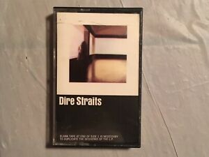 DIRE STRAITS Self-Titled Debut 1978 Album Cassette Tape M5 3266 Classic Rock*NM*