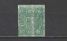 1133-SELLO  PRUEBAS ENSAYOS ESSAY PROOF IMPUESTO GUERRA ESPAÑA Nº154. AÑO 1875