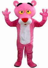 Lovely pink  Pantera adult mascot costume fancy dress