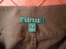 Ralph Lauren pencil midi Skirt- Brown size 8, UK 12