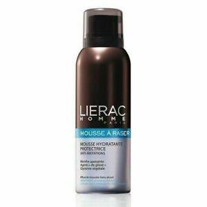 Lierac Homme Shaving Foam, Mousse Hydratante Protectrice Anti-Irritation, 5.2 Oz