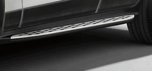 Mercedes-Benz OEM Aluminum Running Board Side Step Kit W253 C253 GLC Class New