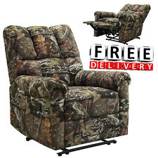 Recliner Camo Chair Kick Out Armrest Lounge Lazy Boy Sofa Camouflage Furniture