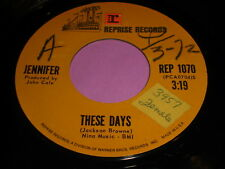 Jennifer: These Days / Last Song 45