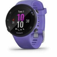 Garmin Forerunner 45S GPS Heart Rate Monitor Running Smartwatch, Iris