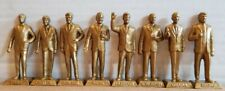 New ListingEight U.S. President Figurines Marx Never Made: Golden Variant