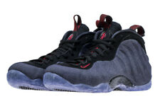 bdb8f3a51e5 Nike Air Foamposite One SZ 7.5 Denim Obsidian Black University Red 314996 -404