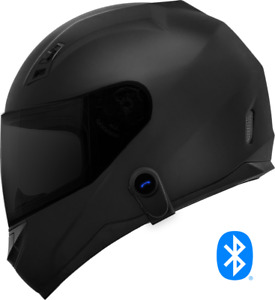Motorcycle Helmet with Bluetooth Headset + Shield color options