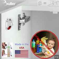 Rev-a-Lock USA Patented Magnetic Invisible Lock System for Cabinets - Child safe
