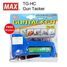 MAX Industrial TG-HC Gun Tacker Stapler + FREE Staples