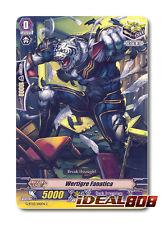Cardfight Vanguard x 4 Wertigre Fanatica - G-BT03/100EN - C Mint