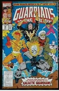 Guardians of the Galaxy 1990 series annual # 3 Polybagged near mint comic book