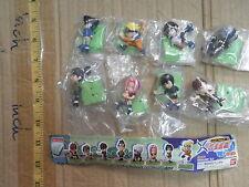 Bandai Naruto SD petit mini gashapon figure 8 pcs Sasuke Kakashi Sakura Lee