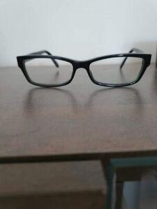 Gucci brille schwarz weiss