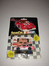 Racing Champions 1/64 stock car with collectors card #19 Chad Little