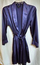 Jones New York Purple Wrap Robe Small/Medium S/M
