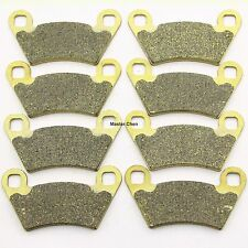 Front Rear Brake Pads For Polaris 570 Ranger Crew EFI 2014 / Ranger 500 06-2007