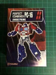 Transformers Perfect Effect Jinrai Prime PC-16 Optimus Ginrai Convoy, MISB!