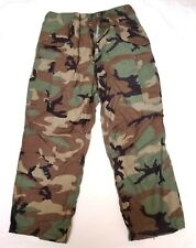 US MILITARY WOODLAND CAMO COLD WEATHER PANTS TROUSERS MEDIUM REGULAR
