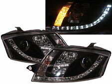 TT 8N MK1 1999-2006 2D Projector R8Look W/ MOTOR Headlight Black for AUDI RHD