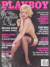 HEATHER KOZAR (POTY) June 1999 PLAYBOY Magazine CHRISTINA APPLEGATE