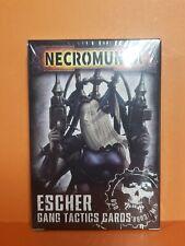 Necromunda Escher Gang Tactics Cards Games Workshop NIB