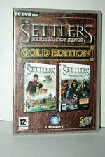 THE SETTLERS HERITAGE OF KINGS GOLD EDITION USATO PC DVD VER ITALIANA RS2 40261