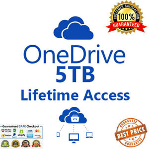 Onedrive 5 TB lifetime account - Fast delivery. The New condition. ACCESS TO LIF