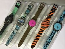 5 Swatch PROTEAM sports Collection ART SURF SUOZ141 SUOZ143 SUOZ704.. SPECIAL