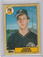 1987 Topps Traded #114T John Smiley RC Rookie