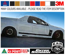 VE Ute  ESM Black Edition kit HOLDEN Commodore SV6 SS - Avery Supreme Wrap