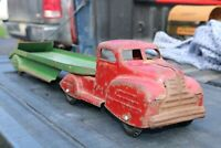 Lincoln Toy Car Auto Hauler Truck & Trailer - Canada - pressed steel