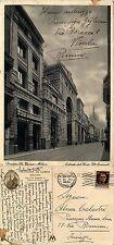 Milano, pensione De Campo, corso Vittorio Emanuele, formato grande v.1942