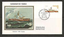 Canada Scott # 779 Canadian Ice Vessels - Labrador . Colorano Silk Cachet.
