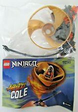 LEGO 70741 Airjitzu de Cole Ninjago toupie volante 6-14 ans + notice complet 47p