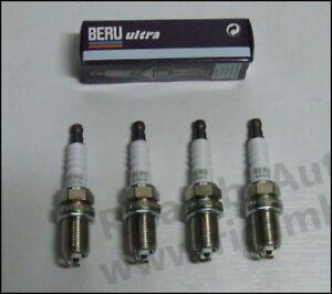 KIT 4 CANDELE  Lancia Y 1.1 DAL 93 al 99 BERU Z193