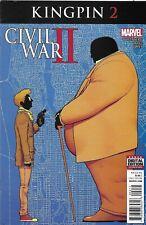 Civil War II Kingpin Comic 2 Cover A Aaron Kuder First Print 2016 Ricardo Ortiz