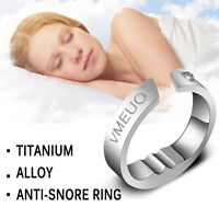 Five Sizes Anti Snore Ring Stop Snoring Acupressure Sleep Practical Aid Device