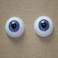 MSD acrylic eyes OOAK 14mm Optical Half Round Acrylic Eyes MA13 Dollmore