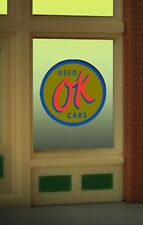 OK Used Cars Animated Neon Window Sign #9065 MILLER ENGINEERING O/HO