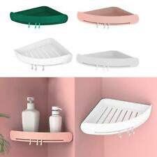 Bathroom Triangular Shower Shelf Shampoo Soap Storage Holder Organizer Rack