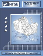 ATSG Ford AX4N 4F50N Transmission Rebuild Instruction Service Tech Manual